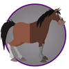 picture of horse property icon