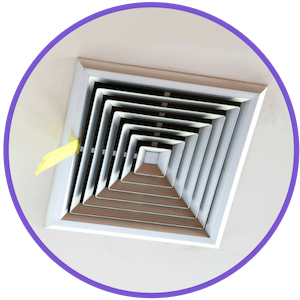 picture of hvac duct outlet