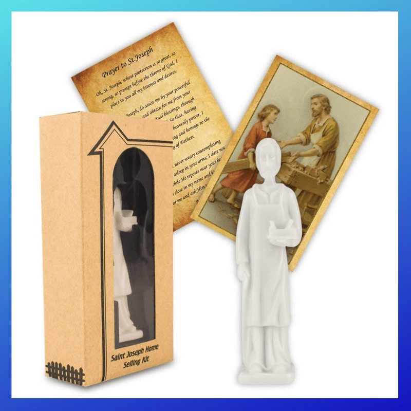 St Joseph Statue | Will Burying One Help Sell Your House? (or NOT)