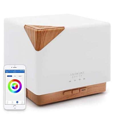 picture of ASAKUKI Smart Wi-Fi Essential Oil Diffuser